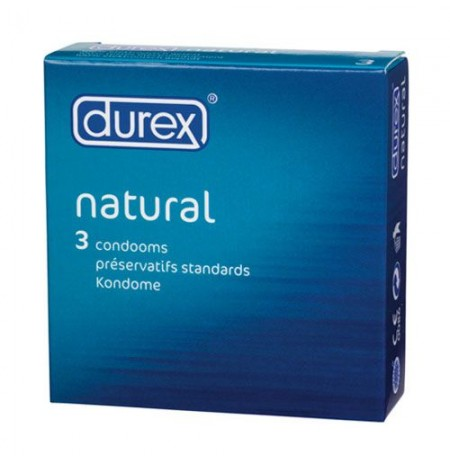 Natural x 3 Condoms