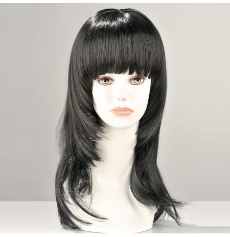 Kate Long Black Wig