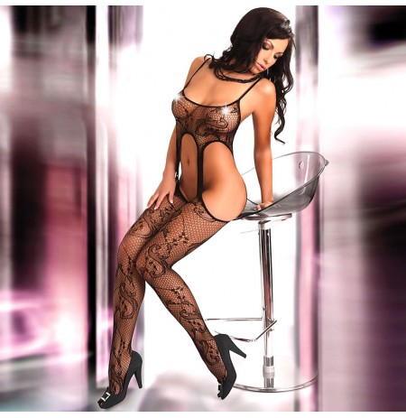 Corsetti Praline Body Stocking UK Size 8 to 12