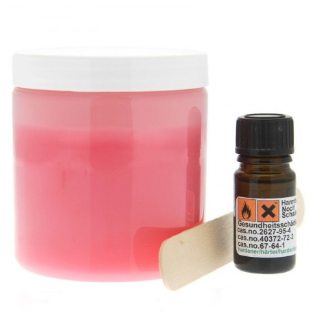 Cloneboy Extra Silicone Hardener and Spoon Pink