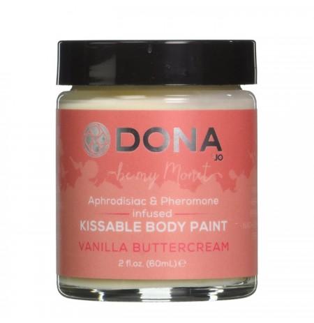 DONA Kissable Body Paint Vanilla Buttercream