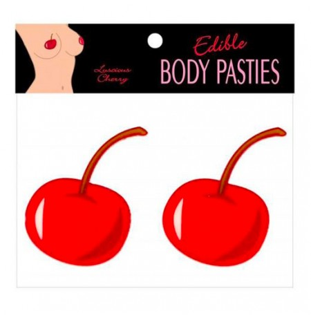 Edible Luscious Cherry Flavour Body Pasties