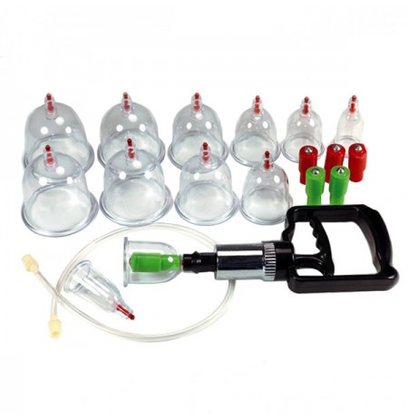 12 Piece Suction Cupping Set
