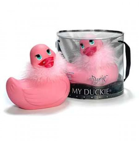 I Rub My Paris Duckie (pink)